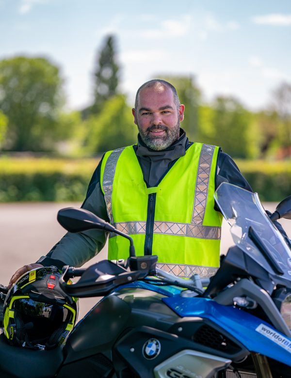 Chris Lake motorcycle instructor